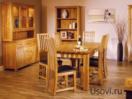 Полезные свойства мебели из натурального дерева