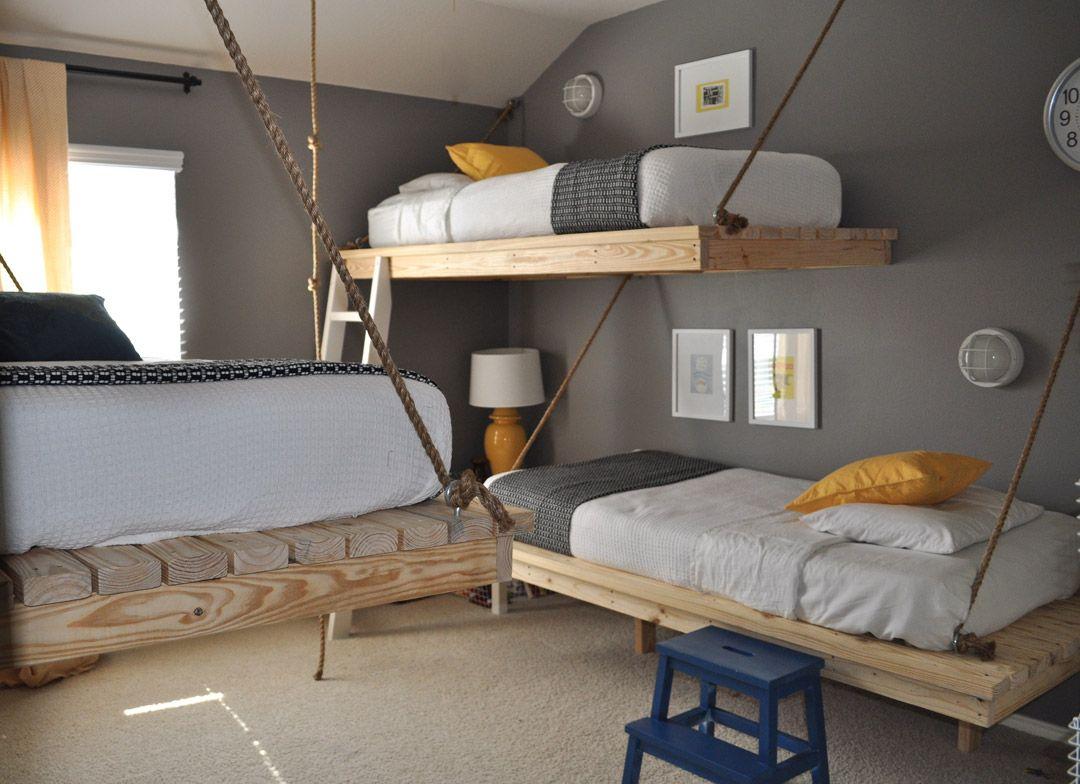 Подвесные кровати: достоинства и недостатки
