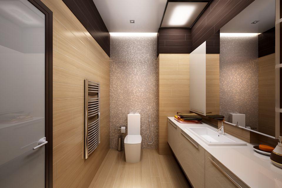 Основные черты современного дизайна уборной
