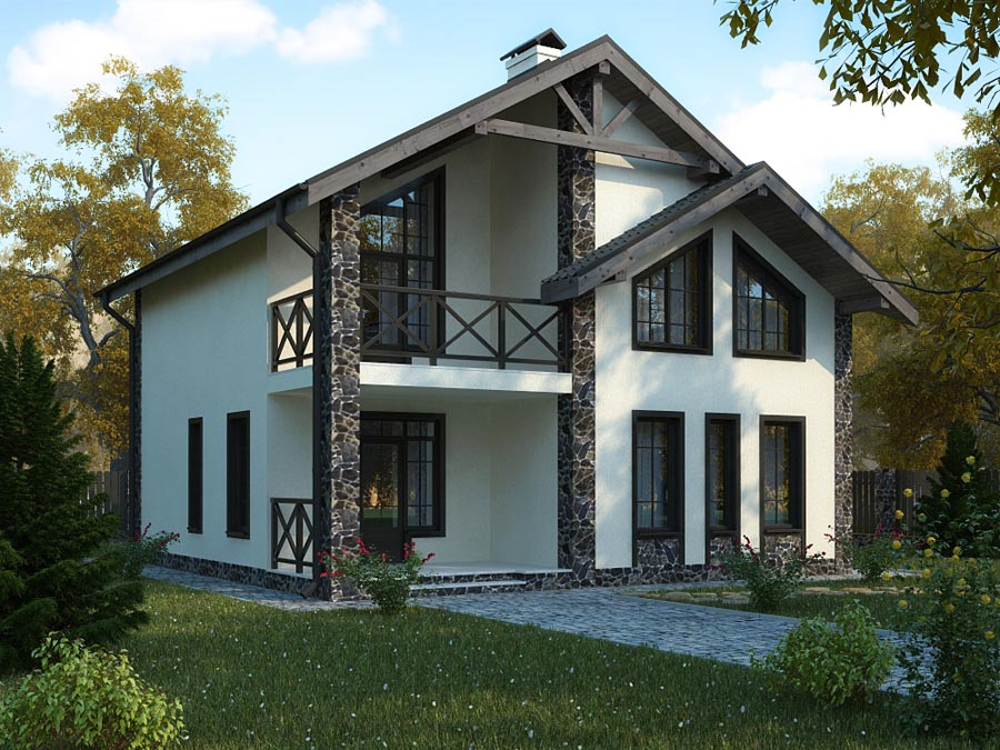 Проекты и стоимость домов из газобетона
