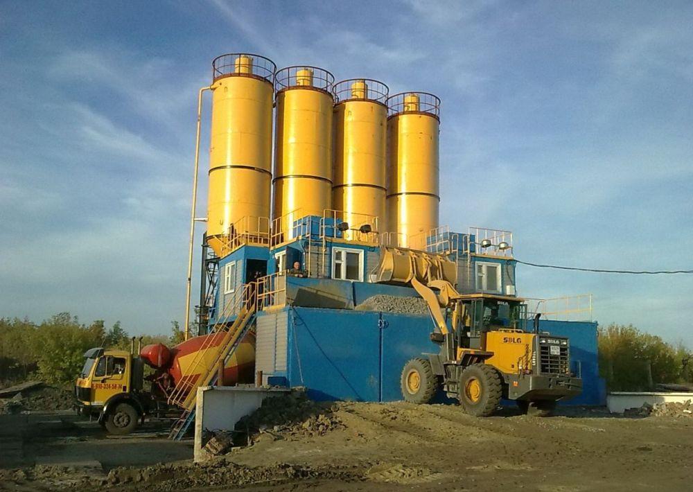 Бетонный завод УБРС-10