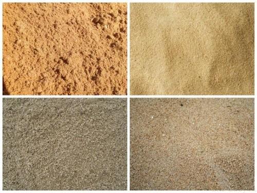 Песок. Какие бывают виды песков?