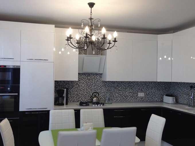 Как выбрать люстру на кухню?