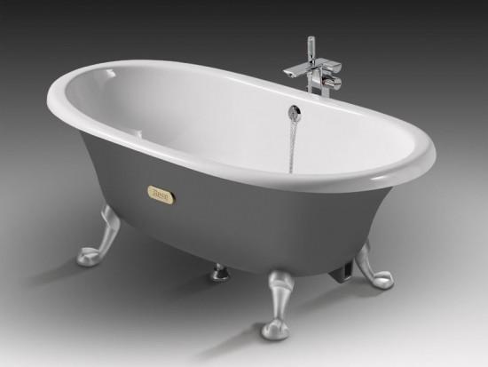 Чугунные ванны – классика в современной интерпретации