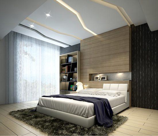Дизайн современной однокомнатной квартиры 35 кв. м
