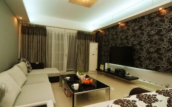 Дизайн стен в съемной квартире