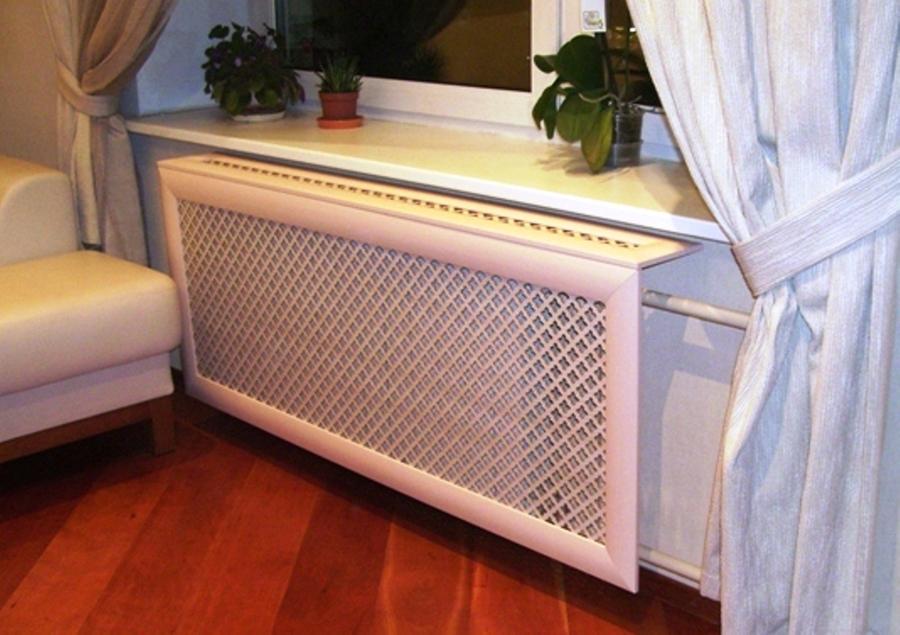 Как спрятать радиаторы отопления?
