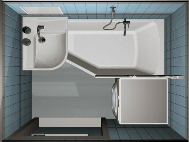 Маленькая ванная комната 3 кв метра: дизайн, фото