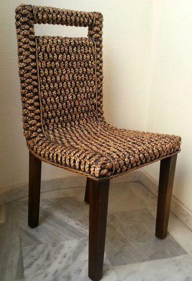 Мебель из ротанга в интерьере помещения