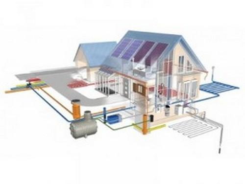 Проводим в дом водопровод и отопление