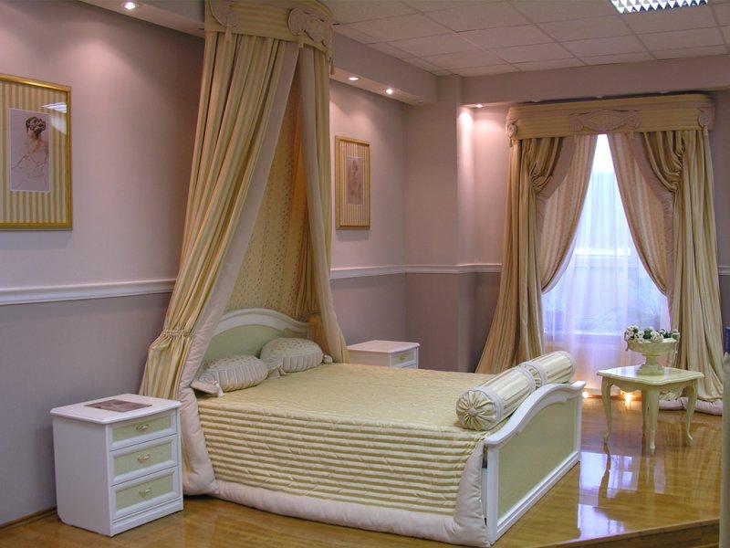 Шторы для спальни: фото новинок дизайна 2016 года