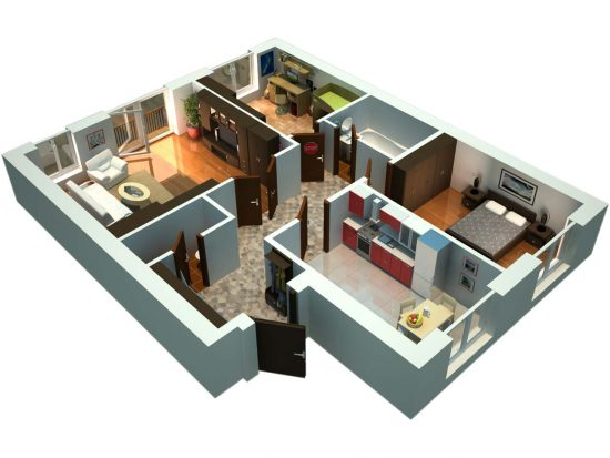 Трехкомнатные квартиры на жилищном рынке