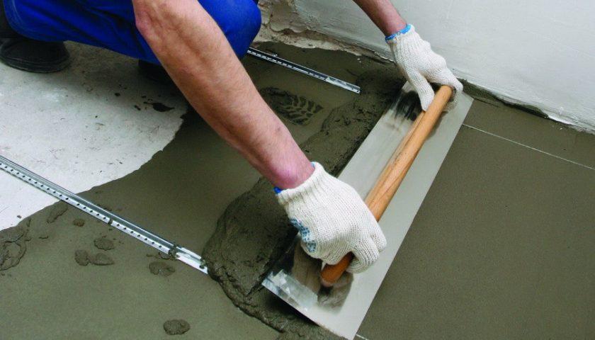 Какой марки выбрать бетон для стяжки пола?