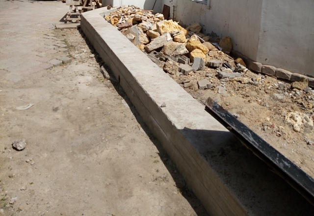 Заливной фундамент из бетона