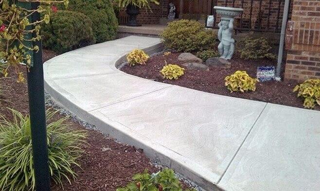 тротуар бетон