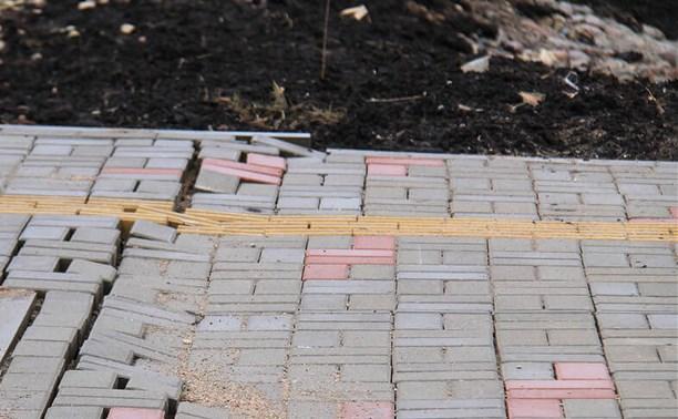 Укладка тротуарной плитки и бордюрного камня