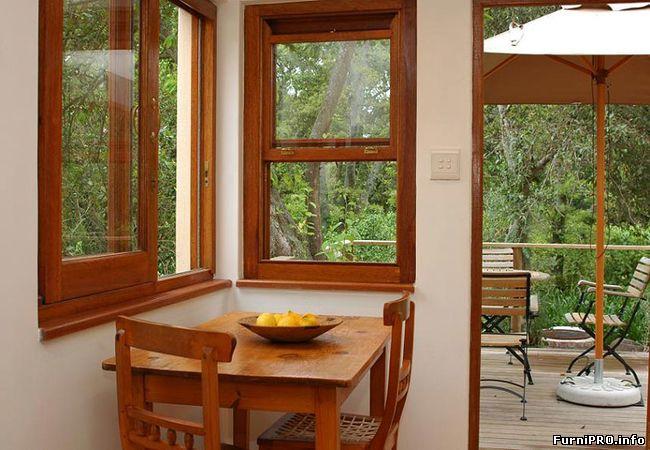 Окна от природы — Деревянные окна из лиственницы