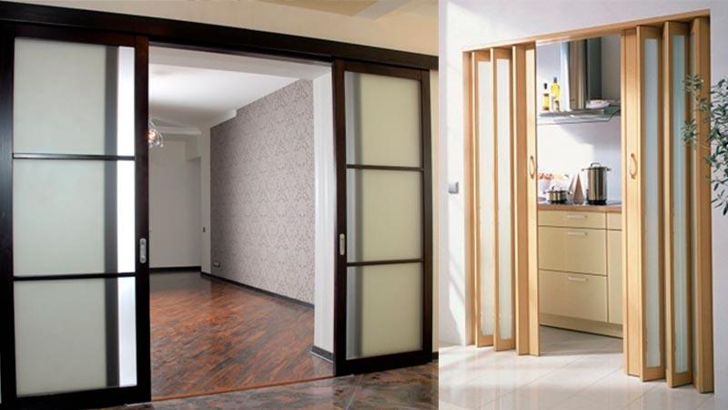 Устройство, преимущества и недостатки раздвижных дверей
