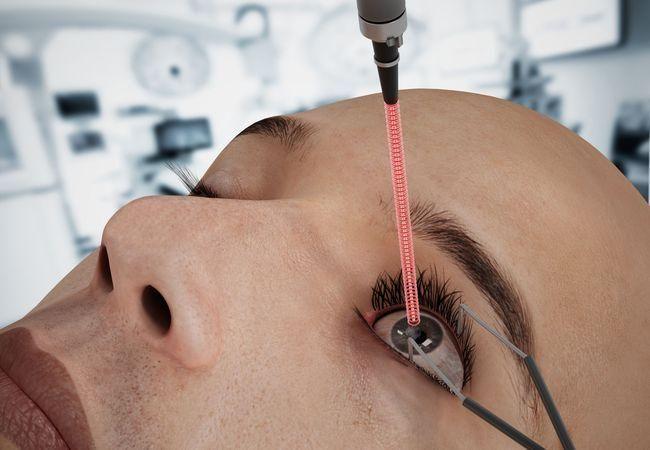 Операция на глаза лазером в Москве