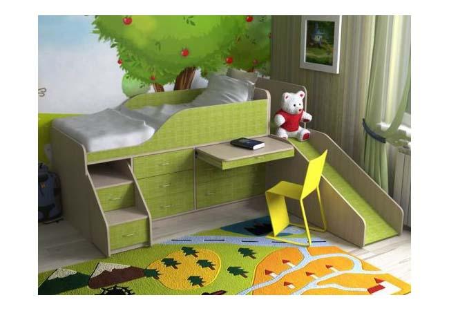 Мебель в детскую комнату. Выбор кровати