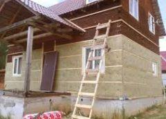 Теплоизоляция деревянного дома под сайдинг