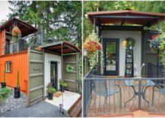 Архитектура: Как контейнерный дом, созданный своими руками, уберег хозяев от ипотеки